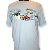 NORTH RIVER WOODIES T-SHIRT FRONT