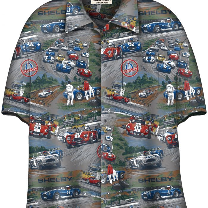 DC148Shelby Cobra Camp Shirt