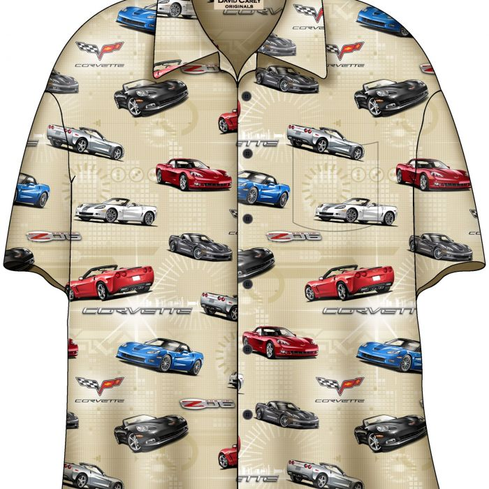 DC203C6 Corvette camp Shirt 2015