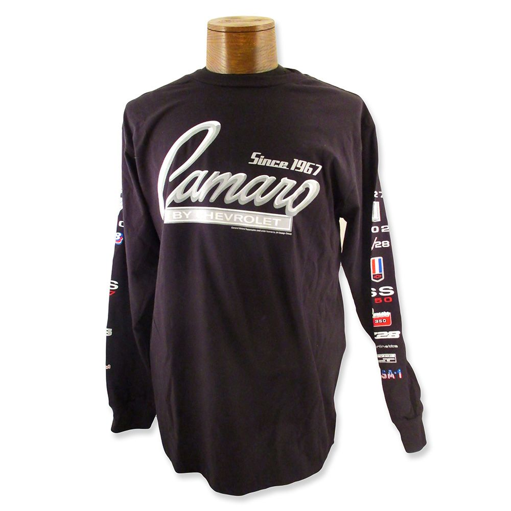Camaro Long Sleeve T-Shirt-JH Designs - Car Shirts and Stuff