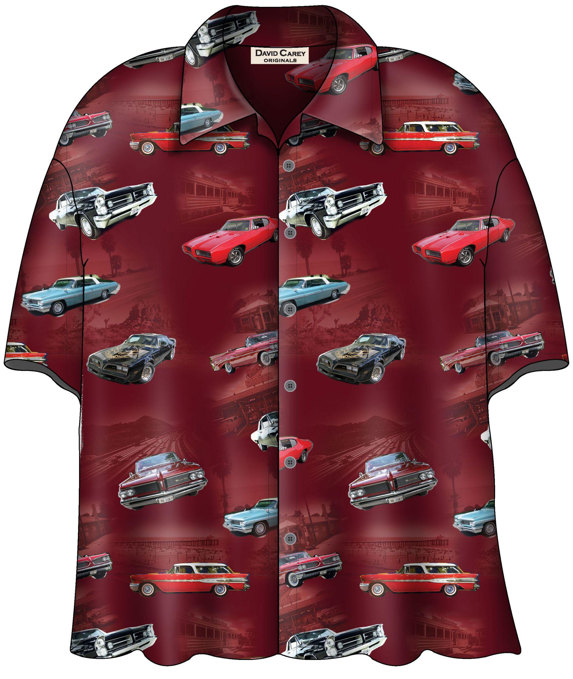 Pontiac Classics Camp Shirt Licensed by General Motors