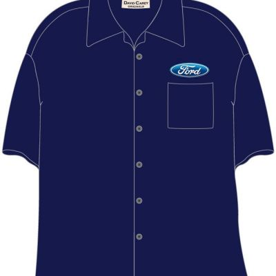 DC137 Ford Work Shirt 2014