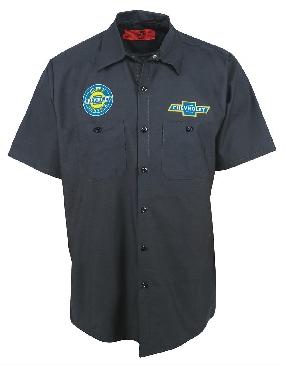 ff10a3b606 GM Chevrolet Work Shirt - Car Shirts and Stuff