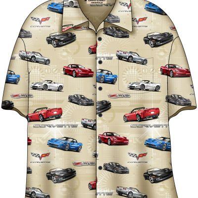 DC203C6 Corvette camp Shirt 2015