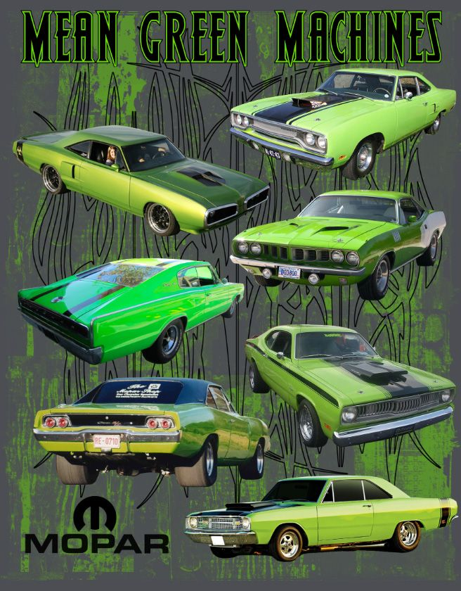 Mopar Mean Green T-Shirt