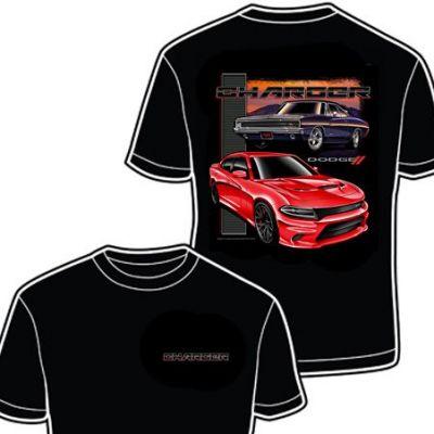 dcmopardodgechallengerii-t-shirt